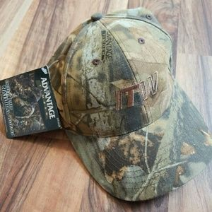 Bill Jordan's ADVANTAGE TIMBER Camo Hat RT400B NWT